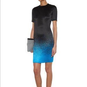 Alexander Wang Micro Pleat Spray Print Dress NWOT